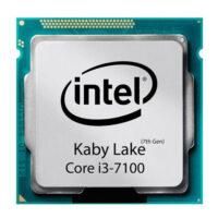 پردازنده اینتل مدل Core i3 7100 تری