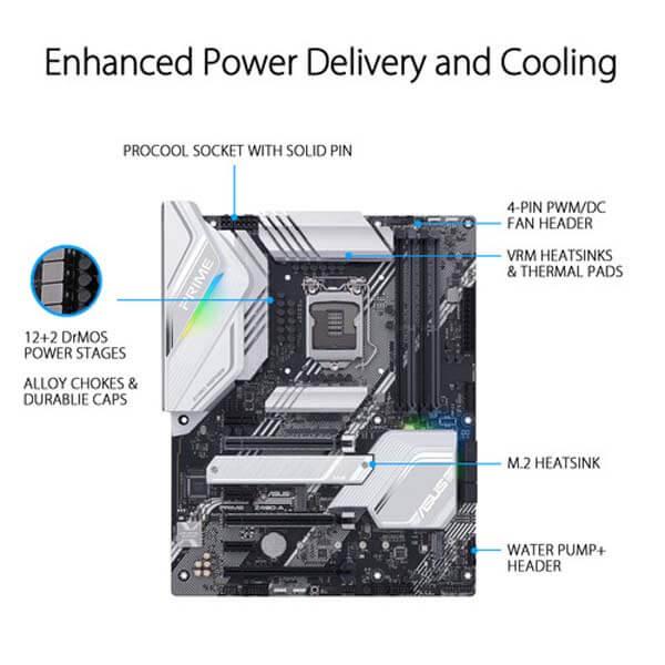 قیمت خرید مادربرد ایسوس مدل Prime Z490-A