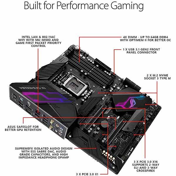 مادربرد ایسوس مدل Z390 ROG Maximus XI Hero Gaming