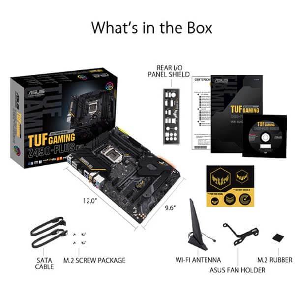 قیمت خرید مادربرد ایسوس مدل TUF Z490-Plus Gaming (Wi-Fi)