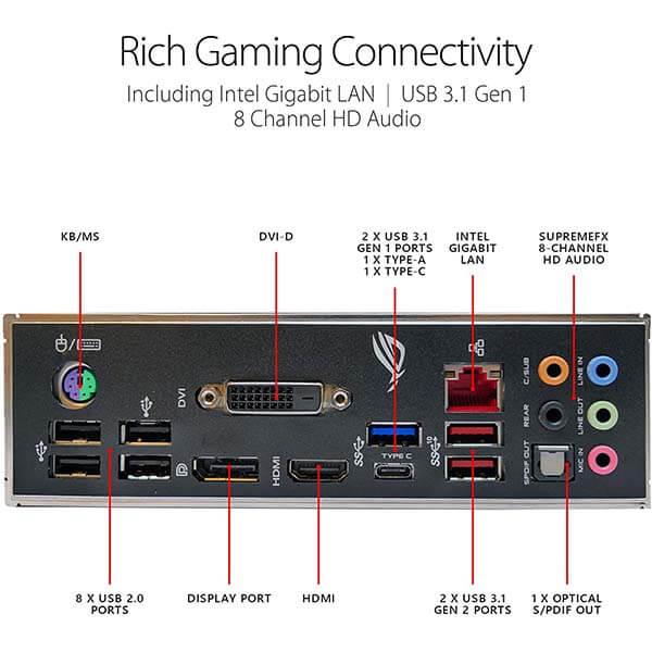 قیمت خرید مادربرد ایسوس مدل ROG Strix B365-F Gaming