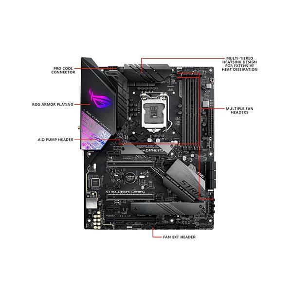 قیمت خرید مادربرد ایسوس مدل ROG Strix Z390-E Gaming