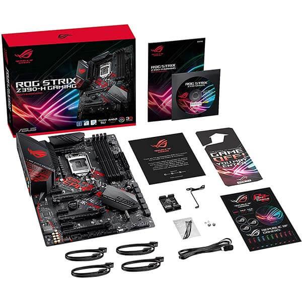 قیمت خرید مادربرد ایسوس مدل ROG Strix Z390-H Gaming