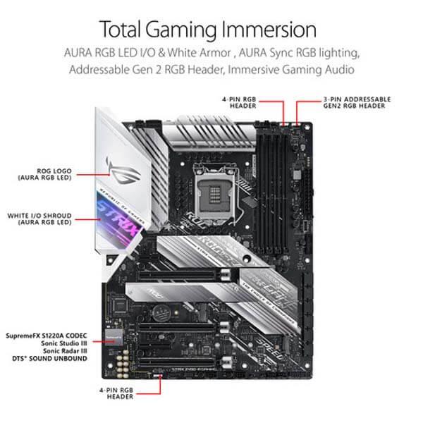 قیمت خرید مادربرد ایسوس مدل ROG Strix Z490-A Gaming
