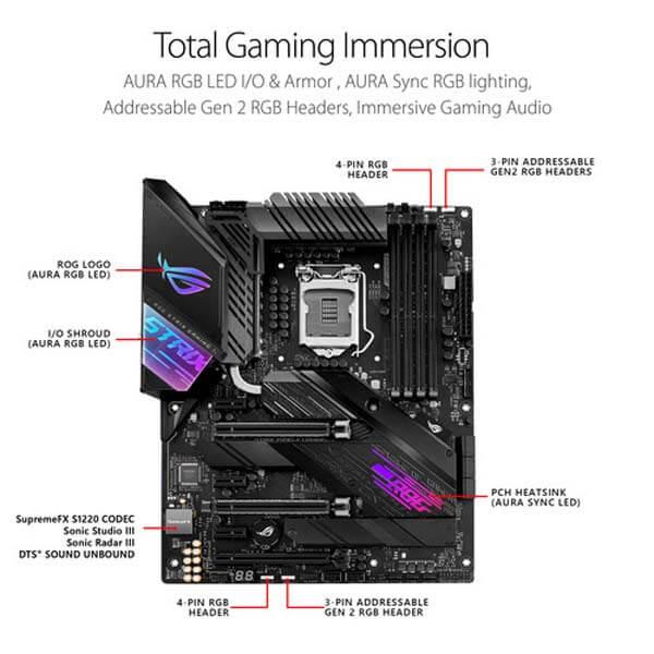 قیمت خرید مادربرد ایسوس مدل ROG Strix Z490-E Gaming