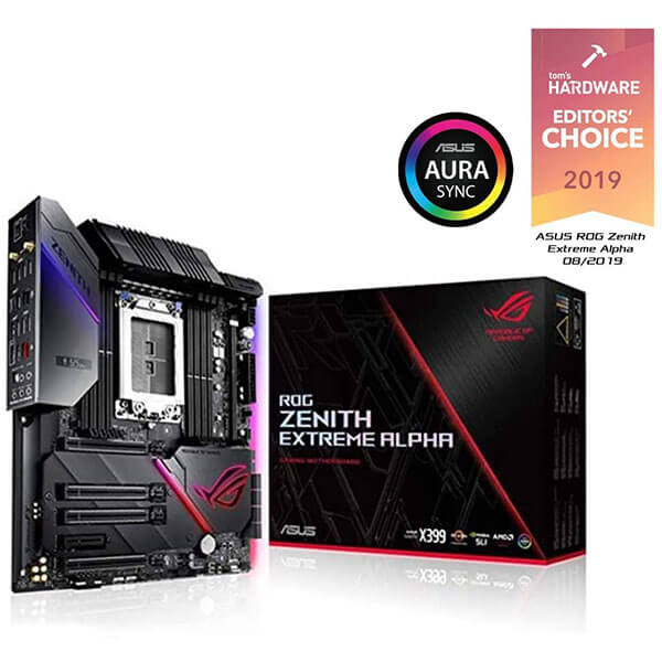 قیمت خرید مادربرد ایسوس مدل Asus X399 ROG Zenith Extreme Alpha Gaming