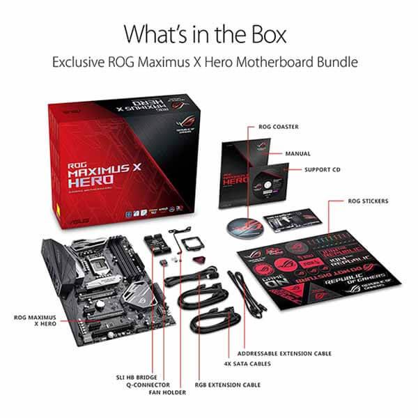 قیمت خرید مادربرد ایسوس مدل Z370 ROG Maximus X Hero Gaming