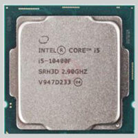 سی پی یو اینتل Core i5 10400-F Comet Lake TRY upto 4.30 GHz (6 هسته ، 12مگ کش )
