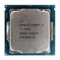 سی پی یو اینتل Core i7 7700-K KABY Lake TRY upto 4.50 GHz (4 هسته ، 8مگ کش )