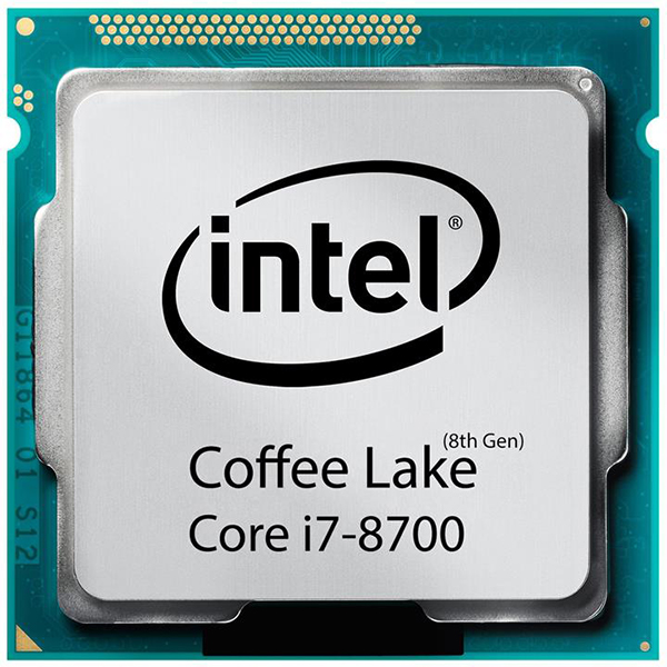 سی پی یو اینتل Core i7 8700 Coffe Lake TRY upto 4.60 GHz (6 هسته ، 12مگ کش )