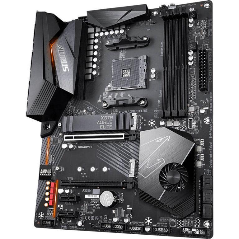 قیمت خرید مادربرد گيگابايت مدل Aorus X570 Elite Gaming