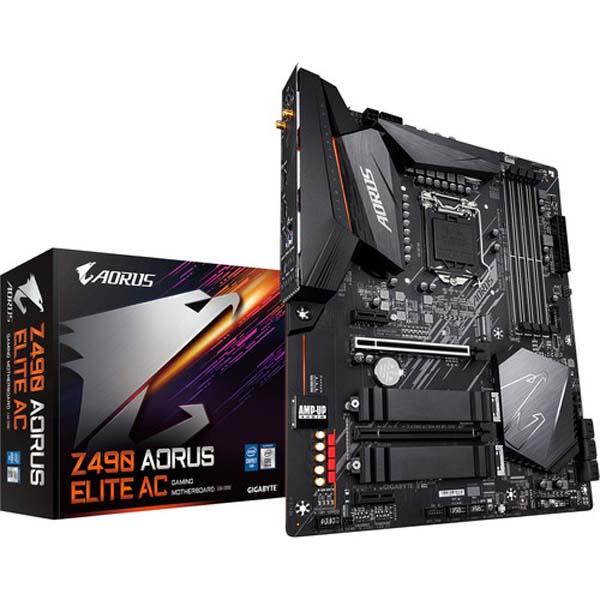 قیمت خرید مادربرد گيگابايت مدل Aorus Z490 Elite AC Gaming