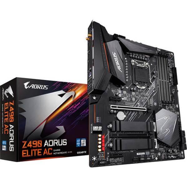 قیمت خرید مادربرد گيگابايت مدلAorus Z490 Elite Gaming