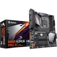 قیمت خرید مادربرد گيگابايت مدل Aorus B460 Pro AC Gaming