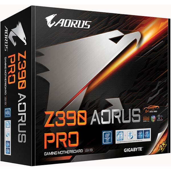 قیمت خرید مادربرد گيگابايت مدل Aorus Z390 Pro Gaming