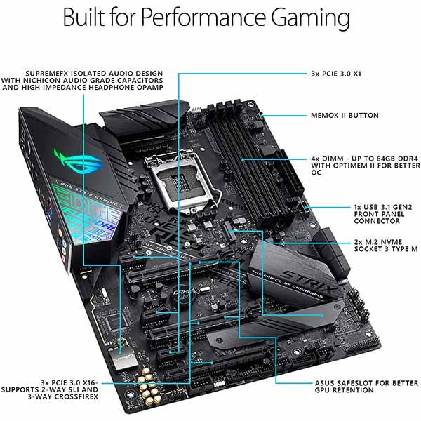 قیمت خرید مادربرد ایسوس مدل ROG Strix Z390-F Gaming