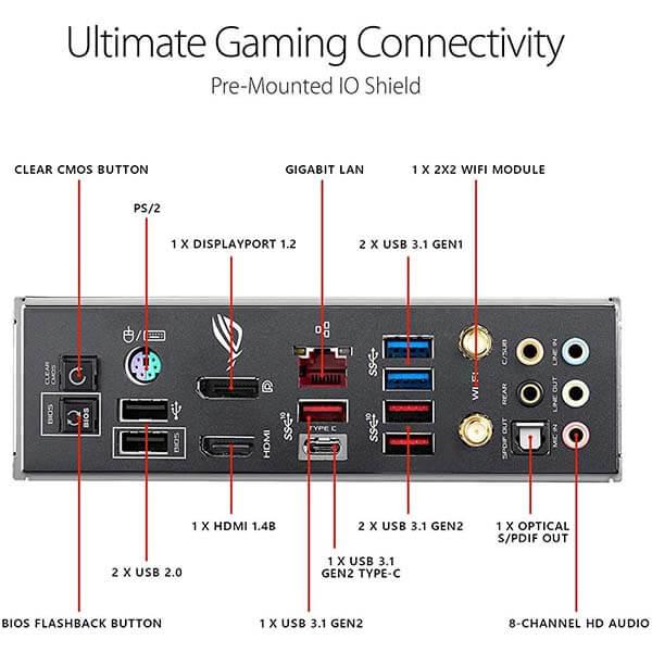 قیمت خرید مادربرد ایسوس مدل Z390 ROG Maximus XI Hero Gaming
