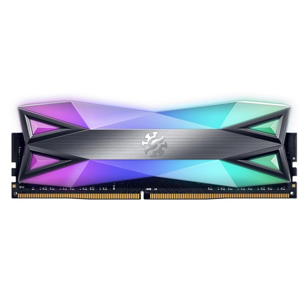 قیمت خرید رم کامپیوتر ای دیتا 8 گیگابایت ddr4 فرکانس 3000 مدل AData XPG Spectrix D60 RGB