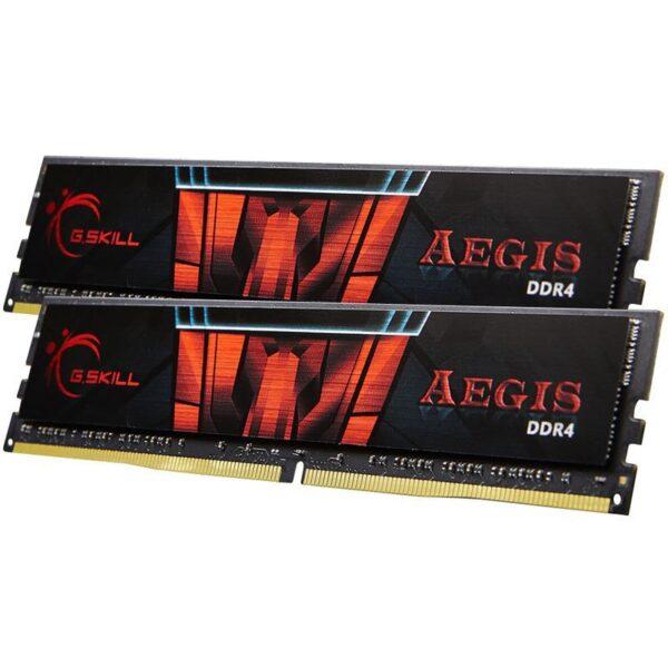 قیمت خرید رم کامپیوتر جی اسکیل 2×8GB=16GB گیگابایت ddr4 فرکانس 3000 مدل Aegis