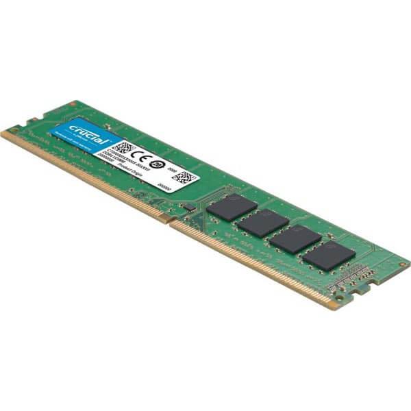 قیمت خرید رم کامپیوتر کروشیال 8 گیگابایت ddr4 فرکانس ۲۴۰۰ مدل Value
