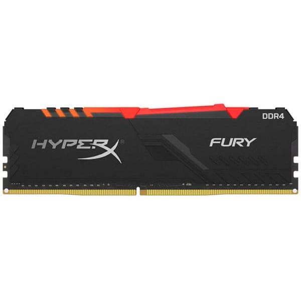 قیمت خرید رم کامپیوتر کینگستون 8 گیگابایت ddr4 فرکانس 3200 مدل HyperX Fury
