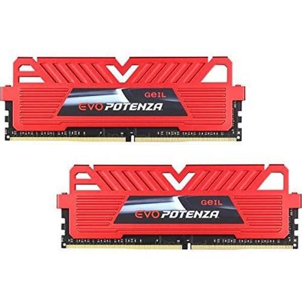 قیمت خرید رم کامپیوتر گیل 2×8GB=16 گیگابایت ddr4 فرکانس 3200 مدل EVO Potenza