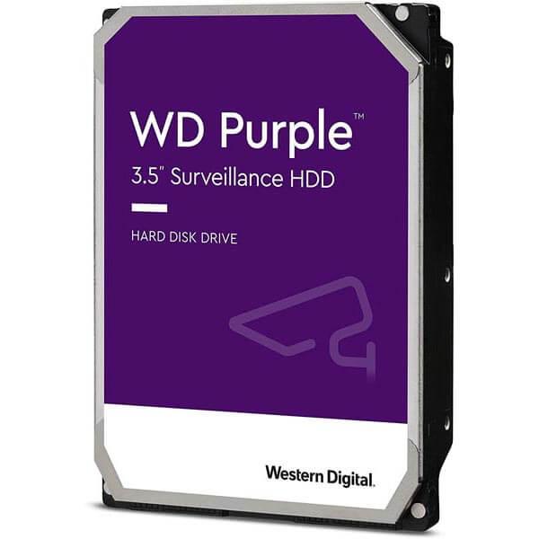 قیمت خرید هارددیسک اینترنال وسترن دیجیتال مدل Western Digital Surveillance Purple ظرفیت 12 ترابایت