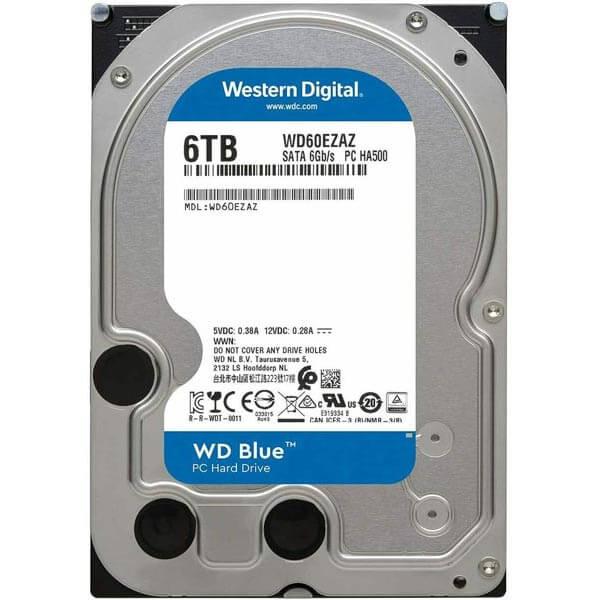 قیمت خرید هارددیسک اینترنال وسترن دیجیتال مدل Western Digital Blue ظرفیت 6 ترابایت