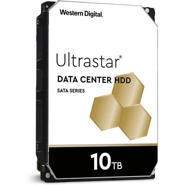 قیمت خرید هارددیسک اینترنال وسترن دیجیتال مدل Western Digital Datacenter Ultrastar ظرفیت 10 ترابایت