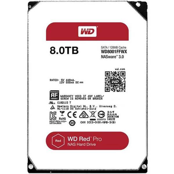 قیمت خرید هارددیسک اینترنال وسترن دیجیتال مدل Western Digital NAS Red ظرفیت 8 ترابایت