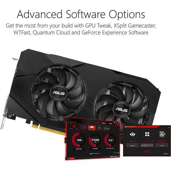 قیمت خرید کارت گرافیک ایسوس مدل Asus Dual GTX 1660 Super Advanced EVO
