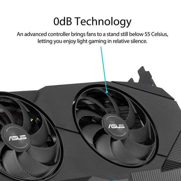 قیمت خرید کارت گرافیک ایسوس مدل Asus Dual RTX 2060 Super OC EVO