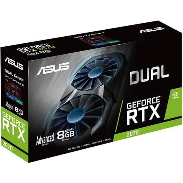 قیمت خرید کارت گرافیک ایسوس مدل Asus Dual RTX 2070 Advanced