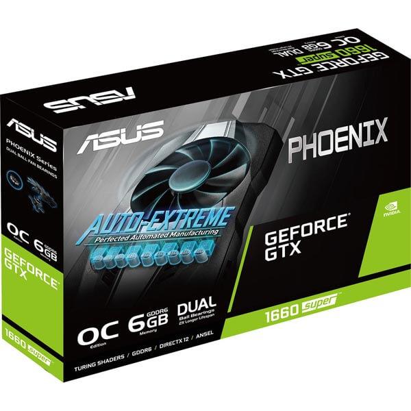 قیمت خرید کارت گرافیک ایسوس مدل Asus GTX 1660 Super OC Phoenix