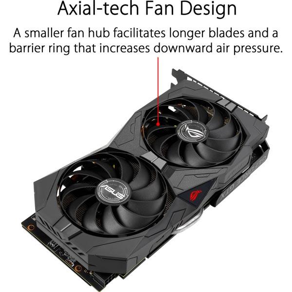 قیمت خرید کارت گرافیک ایسوس مدل Asus ROG Strix GTX 1650 Advanced GDDR6 Gaming