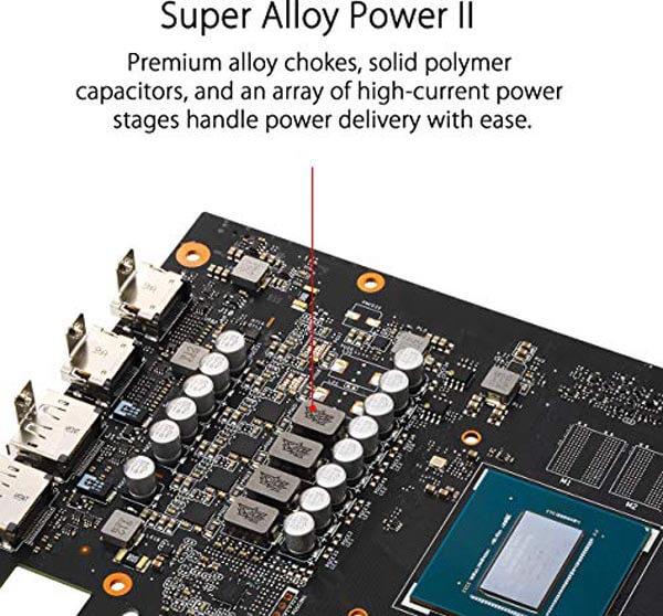 قیمت خرید کارت گرافیک ایسوس مدل Asus ROG Strix GTX 1650 Super Advanced Gaming