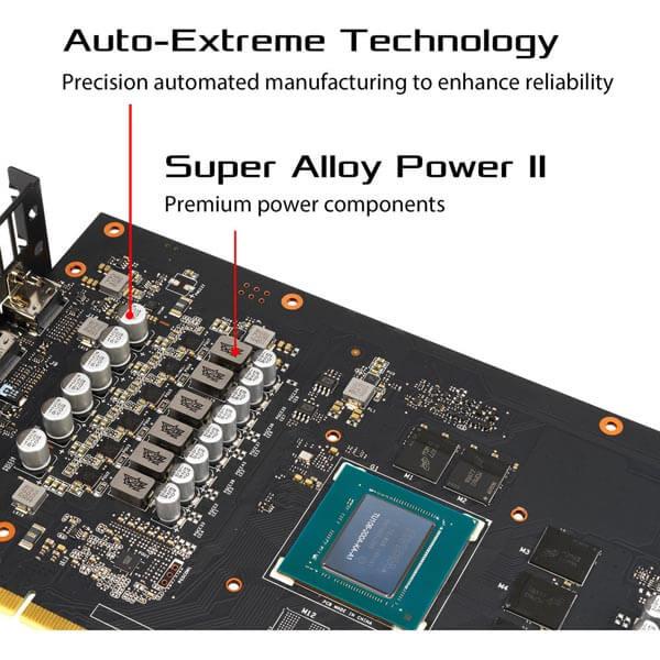 قیمت خرید کارت گرافیک ایسوس مدل Asus ROG Strix RTX 2060 OC Gaming