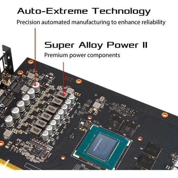 قیمت خرید کارت گرافیک ایسوس مدل Asus ROG Strix RTX 2060 Super Advanced EVO