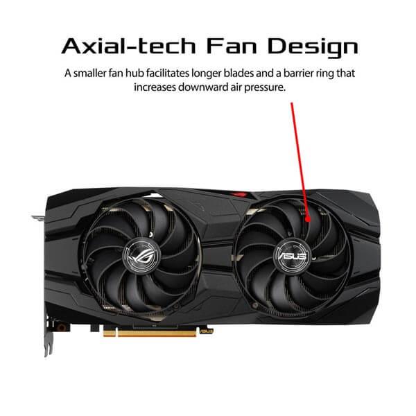 قیمت خرید کارت گرافیک ایسوس مدل Asus ROG Strix RX 5500 XT OC Gaming