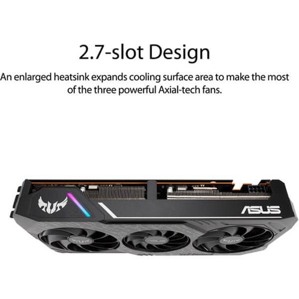 قیمت خرید کارت گرافیک ایسوس مدل Asus TUF RX 5700 OC Gaming X3