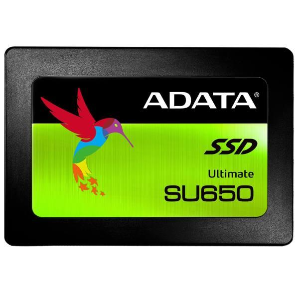 هارد اس اس دی ای دیتا 2.5 اینچی مدل AData Ultimate SU650 ظرفیت ۱۲۰ گیگابایت
