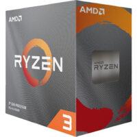 سی پی یو ای ام دی AMD مدل ryzen 3 3100