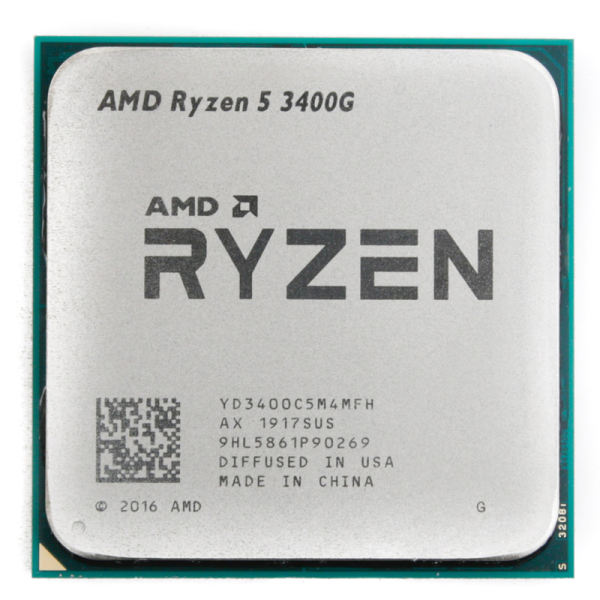 سی پی یو ای ام دی AMD مدل ryzen 5 3400G