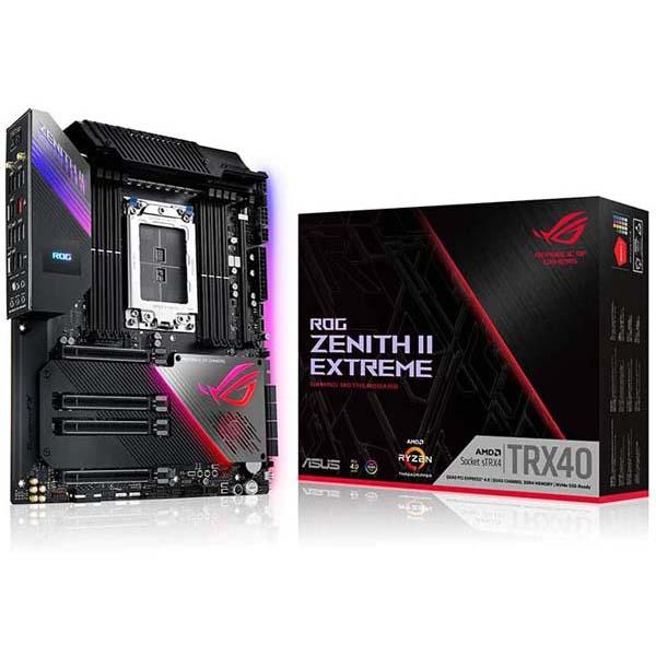 قیمت خرید مادربرد ایسوس مدل TRX40 ROG Zenith II Extreme Gaming