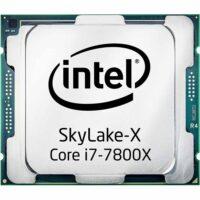 سی پی یو اینتل مدل Core i7-7800X (6 هسته ، 8.25 مگ کش)
