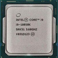 سی پی یو اینتل مدلCore i9-10850K (10 هسته ، 20 مگ کش)