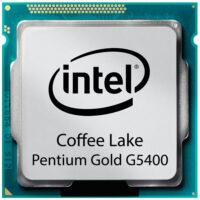 سی پی یو اینتل مدل Pentium G5400 Gold طلایی (۲ هسته ، ۴ مگ کش)