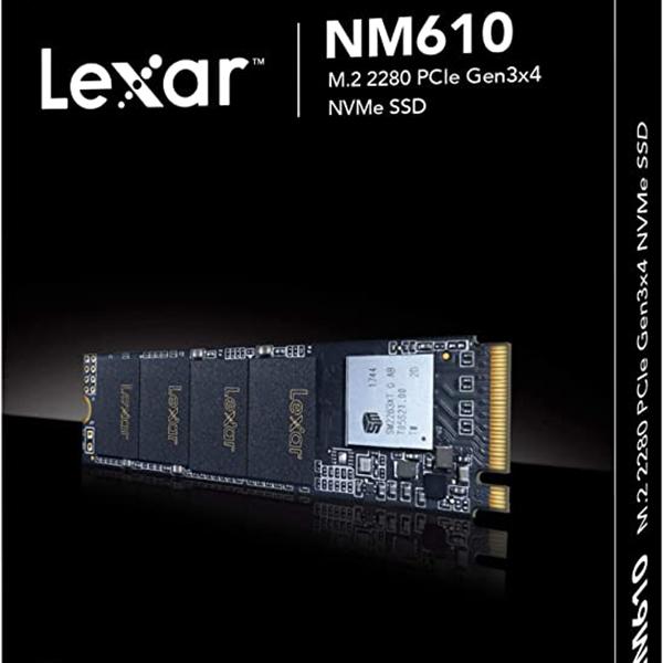 هارد اس اس دی لکسار مدل Lexar NM610 ظرفیت ۵۰۰ گیگابایت