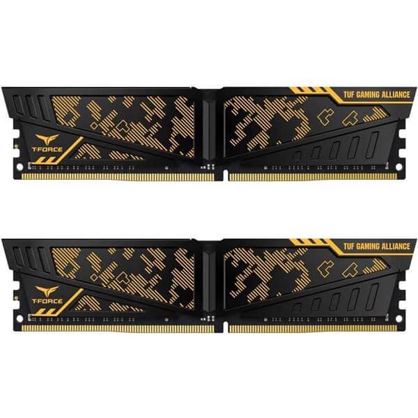 قیمت خرید رم کامپیوتر تیم گروپ 2×16=32 گیگابایت ddr4 با فرکانس 3200 مدل Vulcan D80