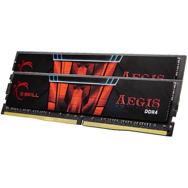 قیمت خرید رم کامپیوتر جی اسکیل 2×16=32 گیگابایت ddr4 فرکانس 3000 مدل GSkill Aegis